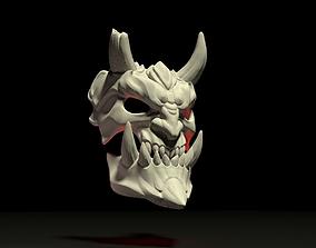 3D printable model demon mask satad
