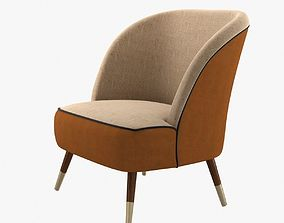 moanne oslo accent chair 3D model