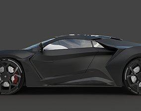 Feny Supersport Black 3D model