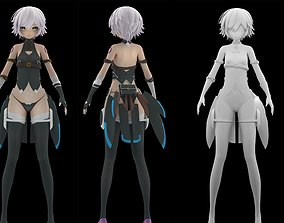 Jack The Ripper Fate Grand Order 3D model