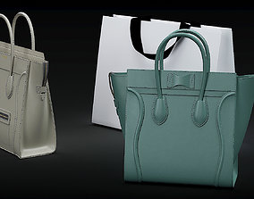3D model Celine bags
