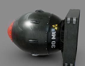 3D asset Bomb Atomic