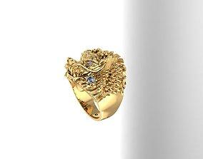 3D print model Dragon Ring lucky for best man