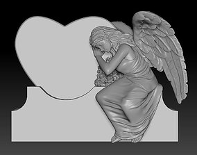 3D print model memorial angels