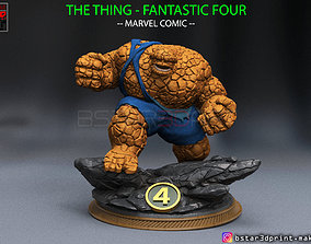 The Thing High Quality - Fantastic Four - 3D print model 1