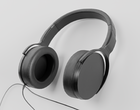 3D model realtime Headphones
