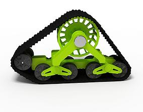 3D Crawler Track