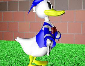 3D duck donald