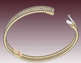 3D print model Bracelet Perlee