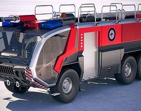 3D model Rosenbauer Panther Firetruck 6x6