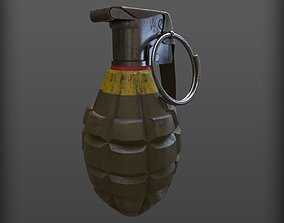 Mk2 Grenade 3D model VR / AR ready