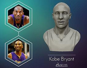 3D Sculpture of Kobe Bryant