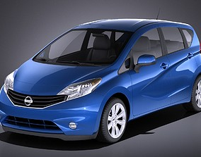 Nissan Versa Note 2016 VRAY 3D model