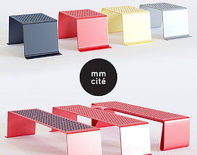 Mmcite Sinus bench 3D model
