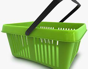 3D Supermarket Shopping basket