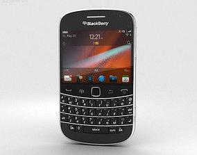 3D BlackBerry Bold 9900 Black