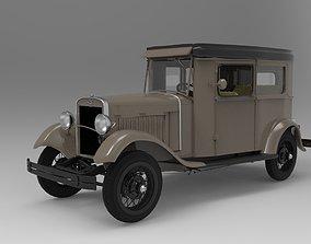 Ford Model A 1930 Sedan - Detailed