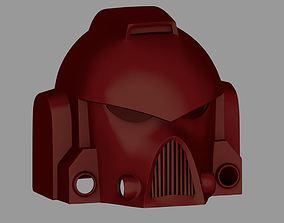 3D print model Warhammer 40k Space Marine Helmet