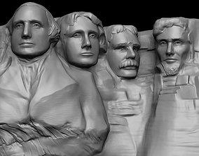 Mount Rushmore Zbrush 3D