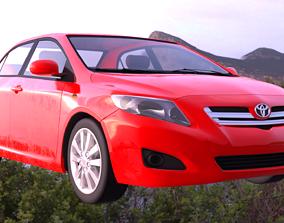 3D model Toyota Corolla 2008 altis
