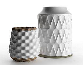 3D Kora and Rati Vases