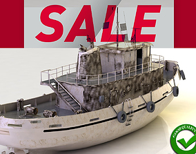 boat Ship 3DM STL