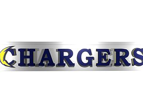 logo Los Angeles Chargers 3D model