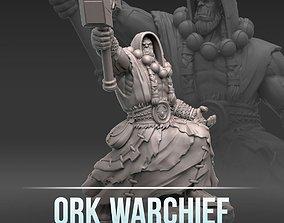 3D print model Ork warchief