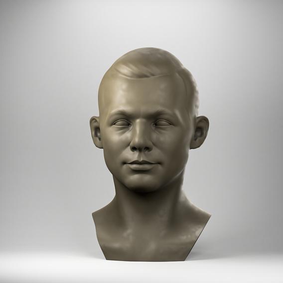 Soviet cosmonaut Yuri Gagarin