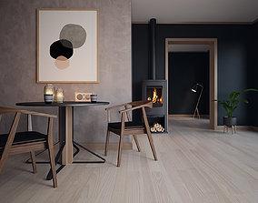3D Render Inspiration Vol01 - Scene 01 furniture