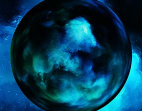 3D Nebula Space Environment HDRI Map 009