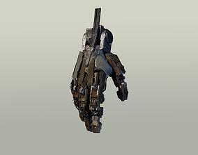 3D model hand mechanical 02