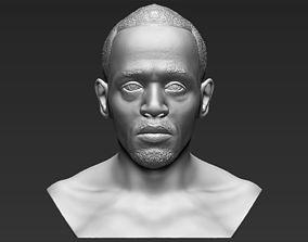 Usain Bolt bust 3D printing ready stl obj