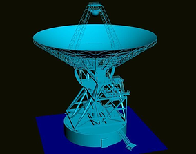 Satellite antenna 3D