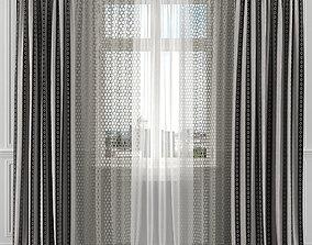 Curtain Set 132C 3D model