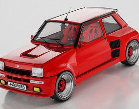 3D Renault 5 Turbo Maxi