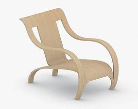 3D model 0051 - Modern Armchair