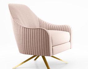 3D West Elm Roar Rabbit Swivel Chair