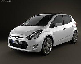 3D Hyundai ix20 2011