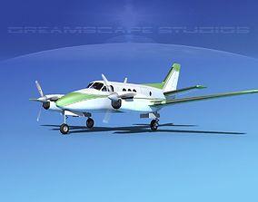 3D model Beechcraft King Air C100 V15