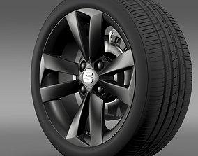 Seat Mii Vibora Negra wheel 3D model