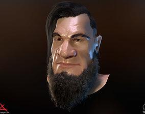PBR Realtime cartoon character game 3D asset
