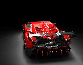 3D model lamborghini veneno vehicle