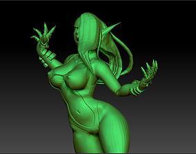 3D Sexy Sci Fi Elf