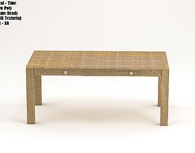3D asset Table Modern Style