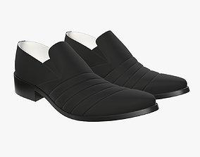 3D model Mens classic shoes 06