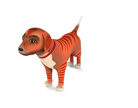 Cartoon Puppy model realtime