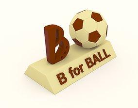 3d B for Ball Model