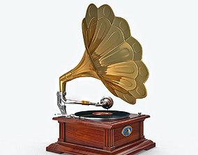 3D print model Classic phonograph
