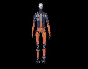 Adam character 3D model